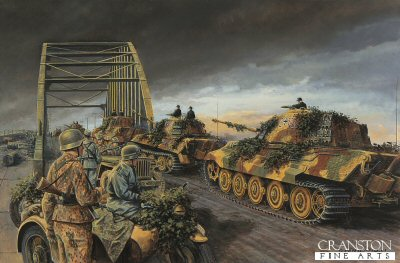 Finale at Arnhem, Holland, 24th September 1944 by David Pentland.