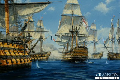 Nelsons Victory at Trafalgar by Anthony Saunders