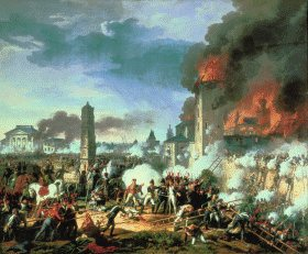 Storming of the Ratisbon by Charles Thevenin (B)