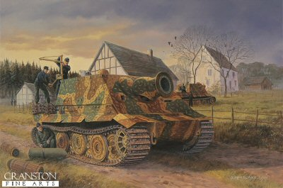 Preparing for the Day, the Reichswald, February 1945 by David Pentland. (P)