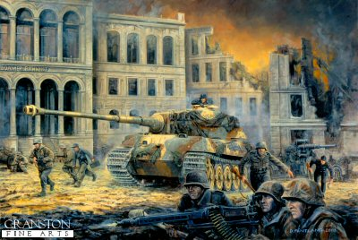 The Last Battle, Berlin, 30th April 1945 by David Pentland.