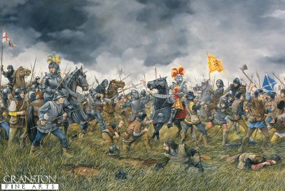 Battle of Flodden 9th september 1513 by Brian Palmer. (PC)