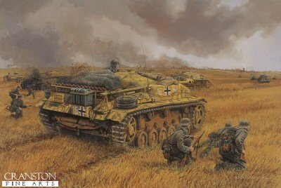 Assault on Voronezh, Russia, 2nd - 7th July 1942 by David Pentland. (E)