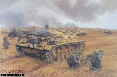 Assault on Voronezh, Russia, 2nd - 7th July 1942 by David Pentland.