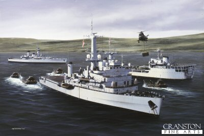 HMS Fearless by Ivan Berryman (P)