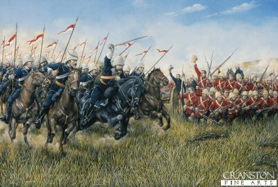 Battle of Ulundi by Brian Palmer (P)