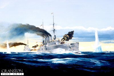 Battle of the Falkland Islands by Randall Wilson. (Y)