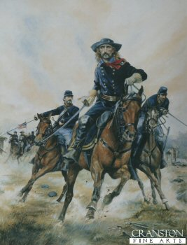 Major General George Armstrong Custer by Chris Collingwood. (PC)