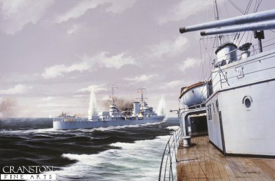 The Pursuit of the Graf Spee by Ivan Berryman (GL)