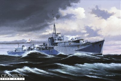 HMS Onslaught by Ivan Berryman (GS)