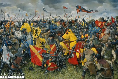 Battle of Crecy by Brian Palmer.