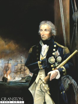 Portrait of Admiral Nelson by Chris Collingwood.