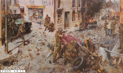 The Tragedy of Ulster 1976 by Terence Cuneo. (B)