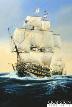 HMS Victory by Randall Wilson. (GS)