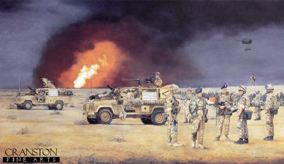 Operation TELIC, Iraq by David Rowlands.