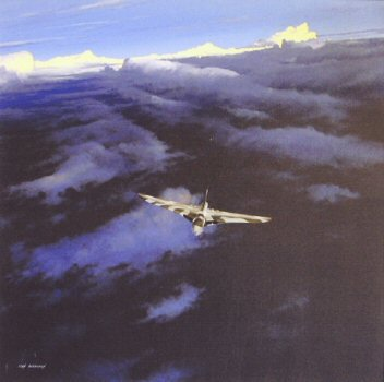 Vulcan B.2, 50 Sqn, Waddington by Ivan Berryman. (GL)