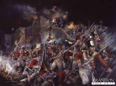Storming of Badajoz by Chris Collingwood.