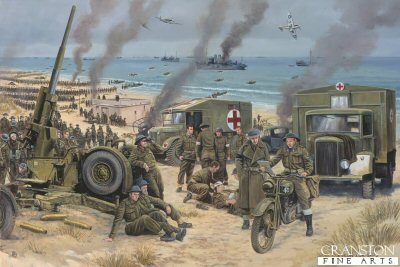 Operation Dynamo, Dunkirk, France 24th May - 4th June 1940 by David Pentland. (GS)