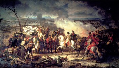 The Battle of Austerlitz by Carl Vernet. (Y)