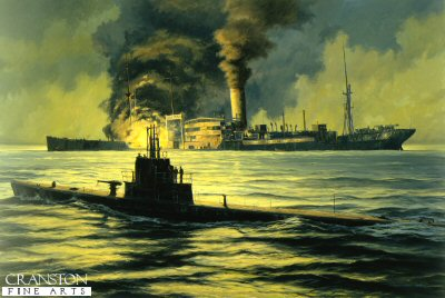 Night of the Hunter, USS Wahoo by Anthony Saunders. (XX)