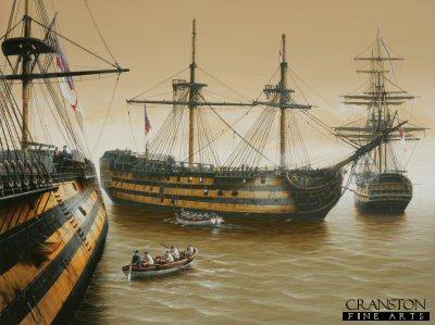 Trafalgar Aftermath  by Ivan Berryman. (GS)