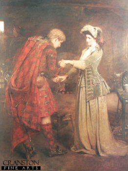 Flora MacDonalds Farewell to Bonnie Prince Charlie by George William Joy.