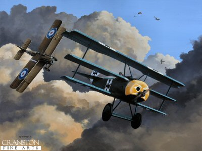 Last Dogfight of Werner Voss by Ivan Berryman. (GL)