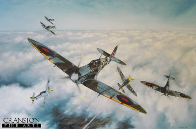 Combat over the Pas de Calais by Simon Smith. (B)