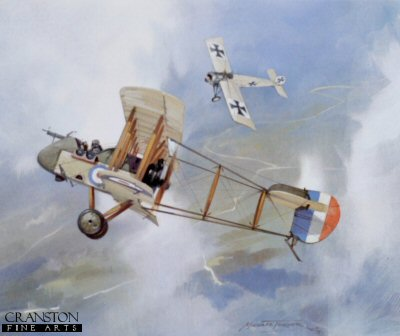 D.H.2 versus Fokker by Michael Turner.