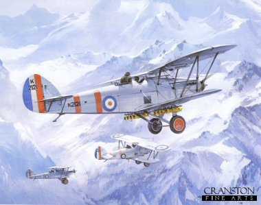 Hawker Harts by Michael Turner.