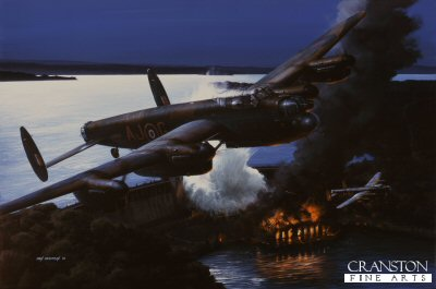 Operation Chastise - The Night They Broke the Dams by Ivan Berryman. (Y)