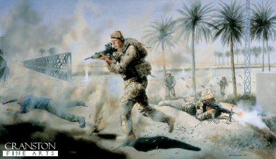 Corporal S G Jardine CGC by David Rowlands. (GL)