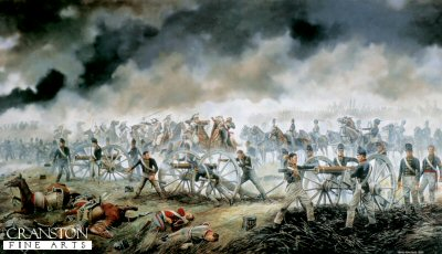 The Battle of Waterloo by David Rowlands.