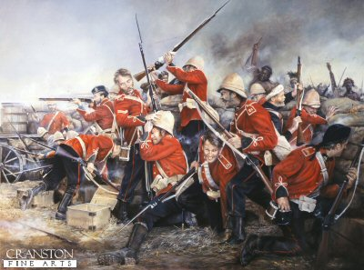 Stand Firm the 24th (Rorkes Drift) by Chris Collingwood. (GS)