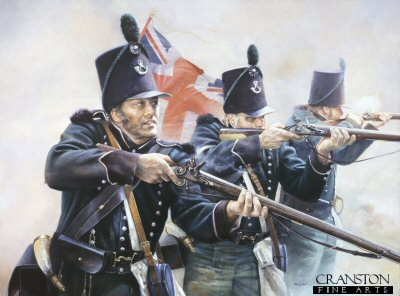 Tribute to the 95th Rifles by Chris Collingwood. (PC)