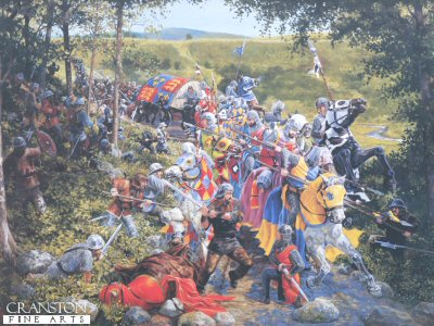 The Battle of Loudon Hill 1296 by Mike Shaw.