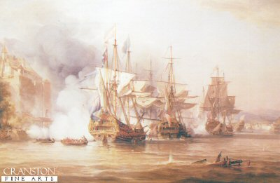 Capture of Puerto Bello by George Chambers.