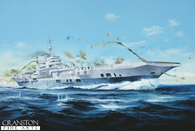 HMS Indefatigable by Randall Wilson. (GL)