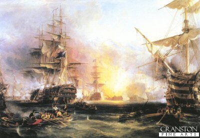 Bombardment of Algiers by George Chambers.