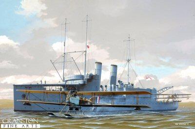 HMS Pegasus by Ivan Berryman.