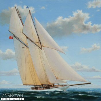 The Meteor, vintage racing schooner.