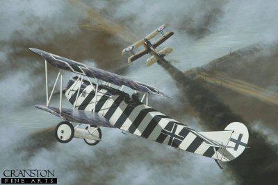Leutnant Josef Mai by Ivan Berryman.