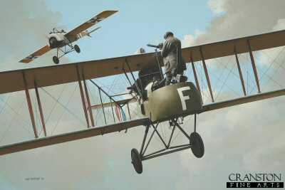 Tribute to the Air Gunners - Royal Aircraft Establishment FE2�by Ivan Berryman.
