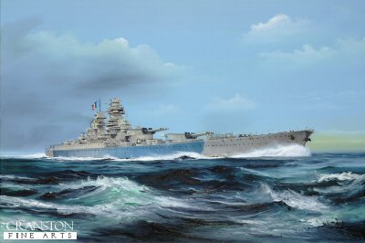 Richelieu at Sea by Randall Wilson. (GL)