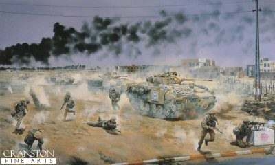 Light Infantry in Iraq by David Rowlands. (GS)