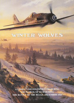 Winter Wolves by Nicolas Trudgian. (FLY)