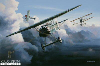Leutnant d R Richard Wenzl by Ivan Berryman.