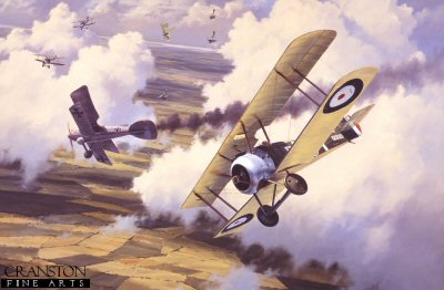 Sopwith Camel by Anthony Saunders.