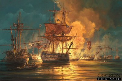 The Battle of the Nile by Anthony Saunders.