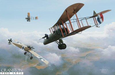 Immelmanns Last Flight by Ivan Berryman. (GL)